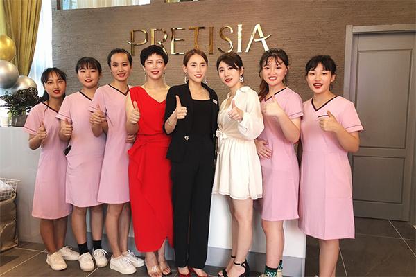 浙江普丽缇莎皮肤管理旗舰店开业盛况全纪录